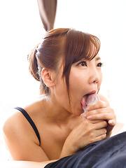 Redhead japanese slut Yoshida Mio - Japarn porn pics at JapHole.com