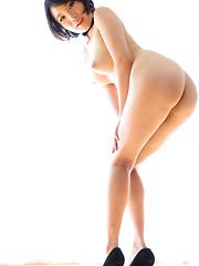Japanese cutie Misaki Akari handjob - Japarn porn pics at JapHole.com