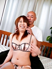 Ai Ootomo Asian gets dildo in asshole and clitoris rubbed at once - Japarn porn pics at JapHole.com