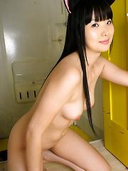 Sweet pussy cat Miku Himeno