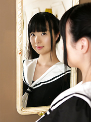Cute Japanese girl Miku Himeno - Japarn porn pics at JapHole.com