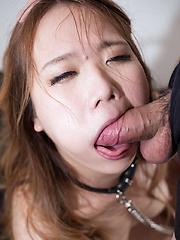 Matsumoto Rena deepthroat face fuck - Japarn porn pics at JapHole.com