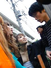 Hot Tsubasa Miyashita gets a mouthful of cum