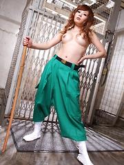 Hot and nasty Asian gal Tsubasa Miyashita