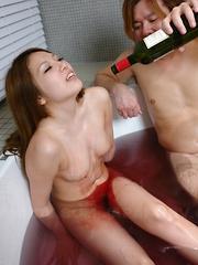 Asian babe Manami Ichikawa fucked so hard - Japarn porn pics at JapHole.com