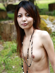 Sexy darling Sakurako showing off outdoors - Japarn porn pics at JapHole.com