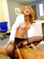 Nasty office slut Nao loves rough group sex - Japarn porn pics at JapHole.com