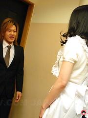 Office slut Kana Aizawa gets fucked so hard - Japarn porn pics at JapHole.com