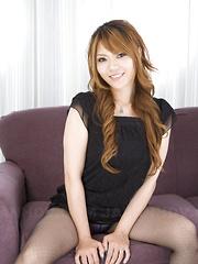 Slutty Asian gal Eri Aihara gets teased well - Japarn porn pics at JapHole.com