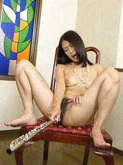 Three nice cocks for slutty Yayoi Yanagida - Japarn porn pics at JapHole.com