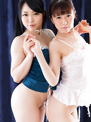 Araki Mai and Kawagoe Yui
