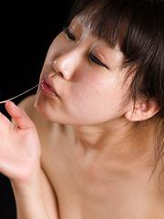 Oshima Karina - Japarn porn pics at JapHole.com