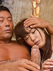 Ryouka Shinoda gets hard penis in beaver after is fucked in mouth - Japarn porn pics at JapHole.com