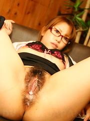 It's hard to resist slutty girl Aoi Mochida - Japarn porn pics at JapHole.com