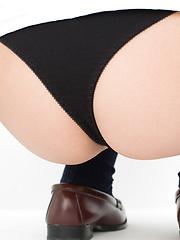 Natsuki Takahashi Asian takes short skirt off and shows hot bum - Japarn porn pics at JapHole.com