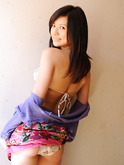 Konomi Yoshikawa Asian smiles being proud of her lustful curves - Japarn porn pics at JapHole.com